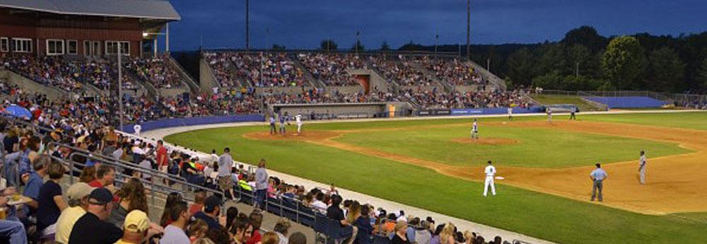 Baseball Game at Skylands Stadium