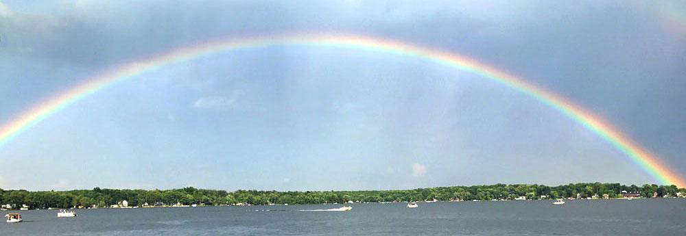 Rainbow over Culver Lake